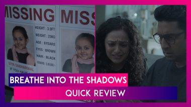 Breathe Into The Shadows Quick Review: Abhishek Bachchan & Amit Sadh's Thriller Series Is Watchable