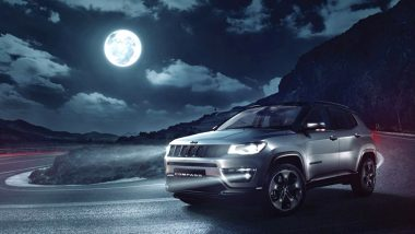 Jeep Compass Night Eagle Limited Edition SUV Launched, Priced in India at Rs. 20.14 Lakh