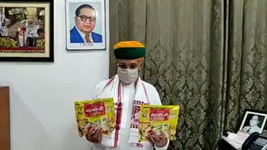 Arjun Ram Meghwal, Union Minister Who Endorsed 'Papad' to Boost Immunity Against COVID-19, Tests Positive