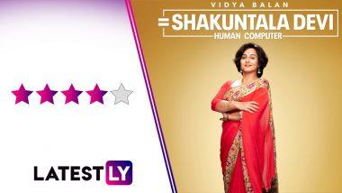 Shakuntala Devi Movie Review: Vidya Balan Rocks as the 'Human Computer' in This Heartwarming Tale of Feminism, Motherhood and, of Course, Maths!
