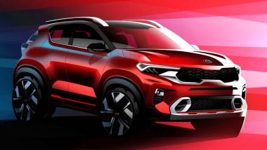 Kia Sonet Sub Compact SUV World Premiere Today in India, Watch Live Streaming of Sonet's India Debut Event Here