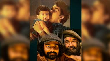 Malayalam Superstar Mohanlal Pens a Lovely Birthday Note for Son Pranav on His 30th Birthday! (View Post)