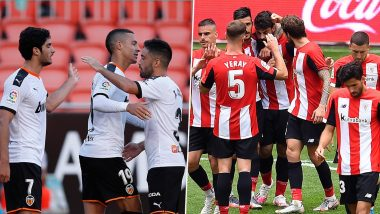Valencia vs Athletic Bilbao, La Liga 2019-20, Free Live Streaming Online & Match Time in IST: How to Get Live Telecast on TV & Football Score Updates in India?