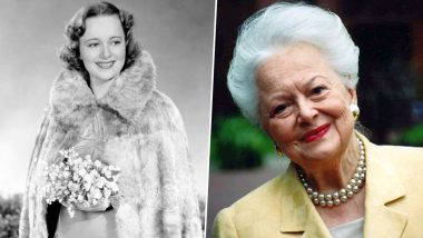 Olivia de Havilland, Gone With The Wind Star, Dies At 104