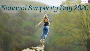 National Simplicity Day 2020: Date And Significance of the Day That Promotes Simple Living