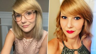 Taylor Swift Lookalike, Tennessee Nurse Ashley, Cannot Leave Her House Because of Her Resemblance to The Singer (Check Pics and Videos)