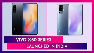 Vivo X50 Series 5G Smartphones Launched In India; Check Prices, Variants, Features & Specifications