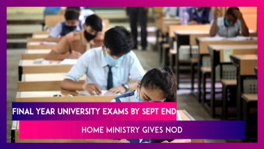 Home Ministry Allows Final Year University Exams By September End; UGC's Revised Guidelines Released