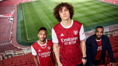 Arsenal New Home Kit for 2020–21 Season Unveiled, Fans Impressed With Jersey Design (See Reactions)