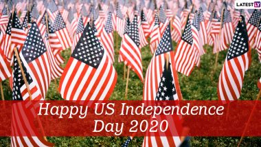 Fourth of July 2020 Messages and HD Images: Send WhatsApp Stickers, 4th of July Wishes, Instagram Quotes, GIFs and Facebook Greetings to Celebrate US Independence Day