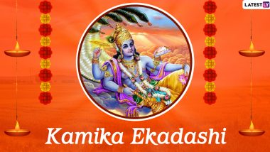 Kamika Ekadashi 2020 HD Images and Wallpapers for Free Download Online: Send WhatsApp Stickers, Facebook Greetings and GIFs to Celebrate the Auspicious Festival