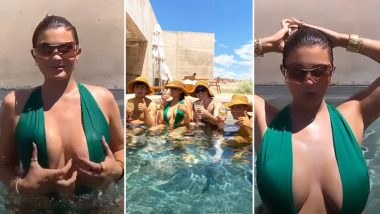 Kylie Jenner Is Back To Raising Temperature With Her Super Hot Pool Pics From Utah Vacay!
