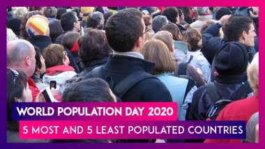 World Population Day 2020: List of 5 Most And 5 Least Populated Countries of The World