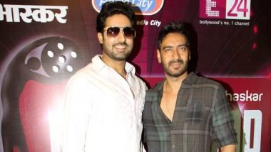 Ajay Devgn Congratulates Abhishek Bachchan for Completing 20 Years in Bollywood, Wishes the Actor For His Digital Debut With Breathe 2