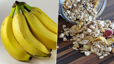 Banana Oatmeal Smoothie For Weight Loss: Here's The Recipe of This Nutritious Drink (Watch Video)