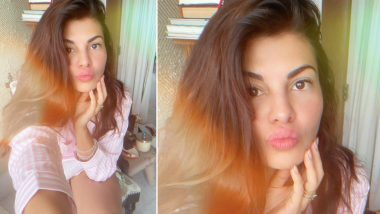 Jacqueline Fernandez Shares Her Supercute Monsoon Selfie (View Pic)