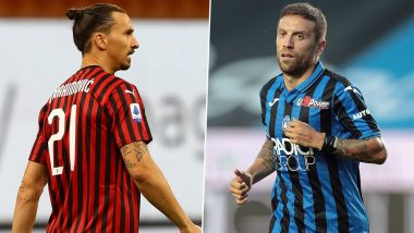 AC Milan vs Atalanta, Serie A 2019-20: Zlatan Ibrahimovic, Alejandro Gomez and Other Players to Watch Out in MIL vs ATN Football Match