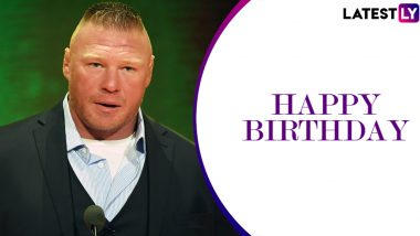 Brock Lesnar Birthday Special: Here's Look at Five Best Matches of Beast Incarnate in WWE (Watch Videos)
