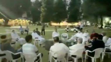 Rajasthan Political Crisis: Team Sachin Pilot Releases Video of Congress MLAs Loyal to Him Camping at Manesar Hotel
