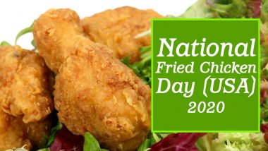 National Fried Chicken Day (USA) 2020: From The Invention to KFC's Pressure Fryer Secret, Here Are 5 Fun Facts About Fried Chicken