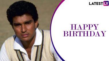 Sanjay Manjrekar Birthday Special: Recalling Former Indian Batsman's Memorable Performances Against Pakistan in the 1989 Test Series
