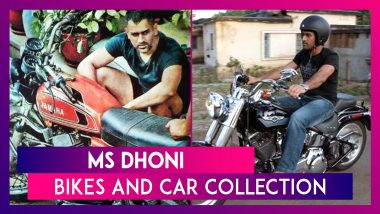 Happy Birthday MS Dhoni: Bikes And Car Collection Of The Former Indian Captain