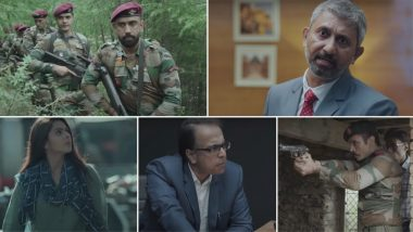 Avrodh - The Siege Within Trailer: Amit Sadh's Thrilling Web Series Attempts to Reveal the Real Story Behind Uri Surgical Strike (Watch Video)