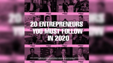 20 Entrepreneurs You Must Follow in 2020