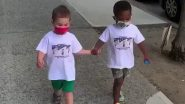 Remember NYC Toddler Besties Maxwell and Finnegan? New Video of the Kids Wearing Face Masks and Walking Hand in Hand Down the Street Is Giving an Important Message You Should Know of (Watch Adorable Video)