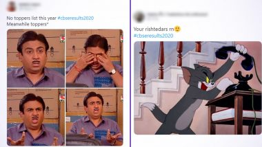 CBSE 12th Result 2020 Declared and Twitter Erupts With Funny Memes and Jokes, Check Out the Hilarious Reactions to Celebrate Your Scores!