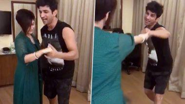 Sushant Singh Rajput Dances Along With 'Detective Byomkesh Bakshy' Co-Star Swastika Mukherjee in This Throwback Video