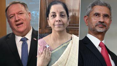 Mike Pompeo, Nirmala Sitharaman, S Jaishankar to Address Virtual India Ideas Summit Amid COVID-19 Pandemic
