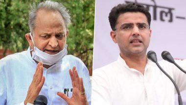 Sachin Pilot Takes a Veiled Dig at Ashok Gehlot As Congress Announces End of Political Crisis in Rajasthan