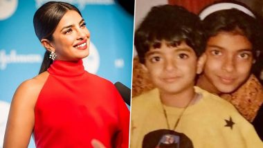 Priyanka Chopra Wishes Her Brother Siddharth Chopra On His Birthday With a Cute Throwback Picture from Their Childhood (View Post)