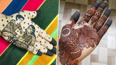 Raksha Bandhan 2020 Quick Mehendi Designs: From Arabic & Indian to Bracelet-Style & Portrait, Latest Mehndi Designs That Are Gorgeous yet Easy (View Mehandi Images and Tutorials)