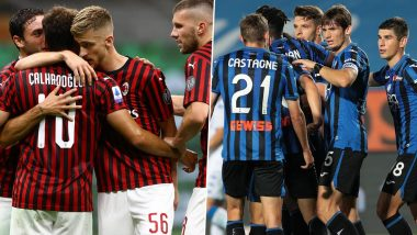 AC Milan vs Atalanta, Serie A 2019–20 Free Live Streaming Online & Match Time in IST: How to Get Live Telecast on TV & Football Score Updates in India?