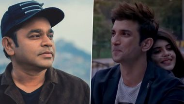 Dil Bechara: AR Rahman Unveils the List of Songs He Composed For Sushant Singh Rajput and Sanjana Sanghi's Film (View Tweet)