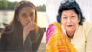 Aditi Rao Hydari Shares Heartfelt Post for National Award-winning Choreographer, Saroj Khan, Who Worked with the Actress in Her Tamil Debut Sringaram