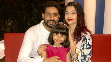 Abhishek Bachchan Confirms Aishwarya Rai and Aaradhya Are COVID-19 Positive, Reveals They Will Be Self Quarantining At Home (View Tweet)