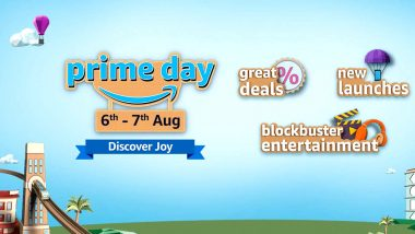 Amazon Prime Day Sale 2020 to Begin in India From August 6; Check New Launches, Deals & Exciting Offers