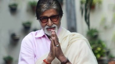 Amitabh Bachchan Is Overwhelmed by the Country's Love for Him After Testing COVID-19 Positive, Expresses Gratitude With a Beautiful Poem (Read Here)