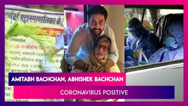 Amitabh Bachchan, Abhishek Bachchan Test Positive For Coronavirus
