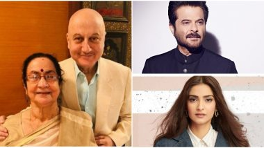 Anil Kapoor, Sonam Kapoor, Raveena Tandon and Others Wish Anupam Kher's Family a Speedy Recovery After They Test Positive for COVID-19