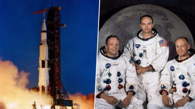 Apollo 11 Mission 51st Anniversary: NASA Remembers The First Moon Landing By Sharing Video of Spaceflight's Launch from Cape Kennedy