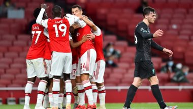 Molde vs Arsenal, UEFA Europa League Live Streaming Online: Where to Watch UEL 2020–21 Group Stage Match Live Telecast on TV & Free Football Score Updates in Indian Time?