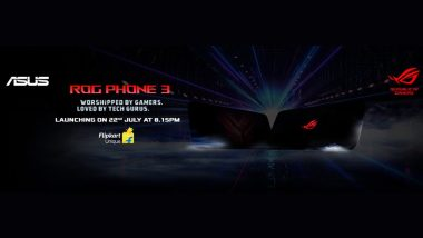 Asus ROG Phone 3 Listed on Flipkart Ahead of July 22 India Launch