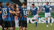 Atalanta vs Brescia, Serie A 2019–20 Free Live Streaming Online & Match in Indian Time: How to Get Live Telecast of ATN vs BSC on TV & Football Score Updates in IST