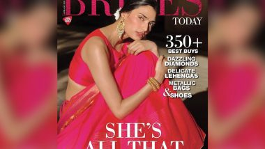 Athiya Shetty Is Resonating That Pink Vibe With the Brides Today Magazine Cover!
