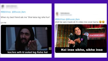 Bhuvan Bam's Ultimate Roast Video Gets Thumbs Up From His Fans, Twitterati Makes Funny Jokes With #BBkiVines New Funny Meme Templates