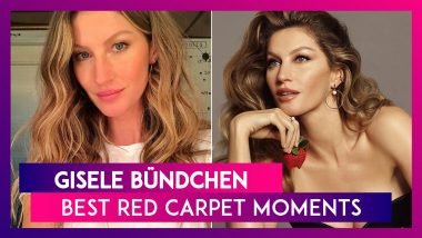 Gisele Bündchen Birthday Special: Witnessing Some Of Her Best Red Carpet Moments